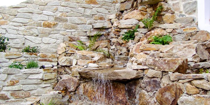 Wasser: Wasserfall meets Schwimmteich!
